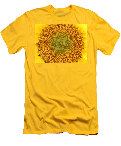 Sunny Swirl Men's T-Shirt (Athletic Fit)