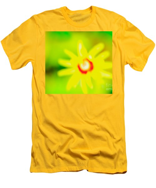 Men's T-Shirt (Slim Fit) featuring the mixed media Sunnyday by Kim Henderson
