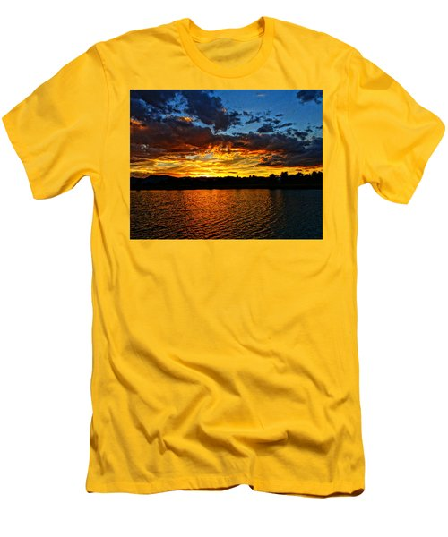 Men's T-Shirt (Slim Fit) featuring the photograph Sweet End Of Day by Eric Dee