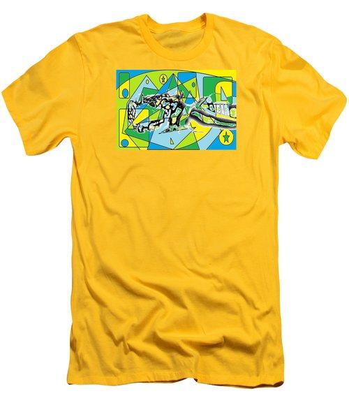 Swift Men's T-Shirt (Slim Fit) by AR Teeter