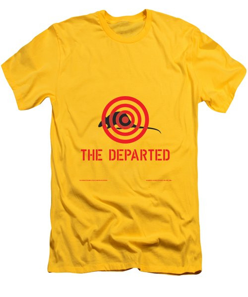 The Departed Men's T-Shirt (Slim Fit) by Gimbri