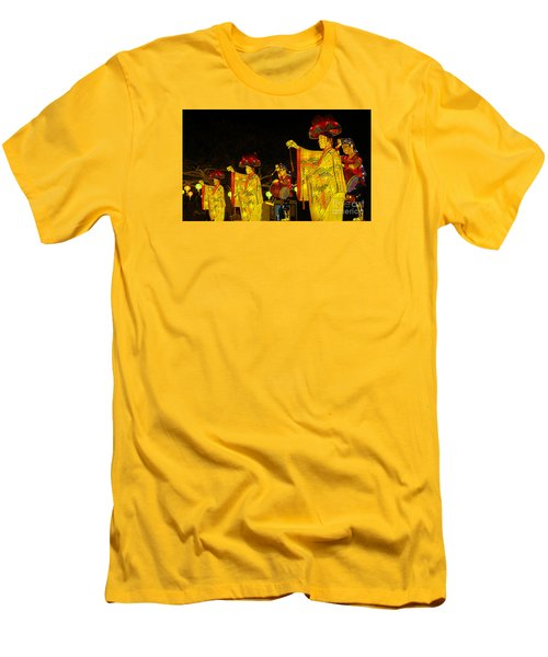 The Japanese Lantern Dancers Men's T-Shirt (Athletic Fit)