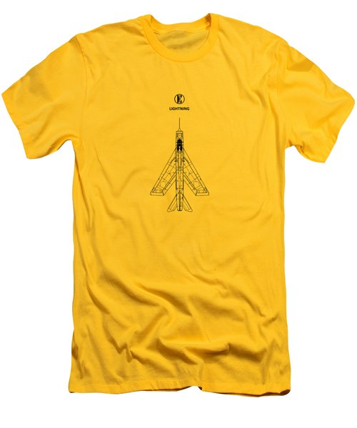 The Lightning Men's T-Shirt (Slim Fit) by Mark Rogan