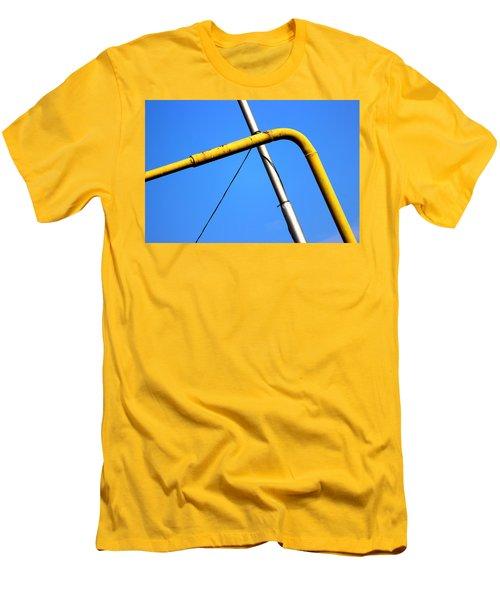 The Mile High Meetup  Men's T-Shirt (Slim Fit) by Prakash Ghai
