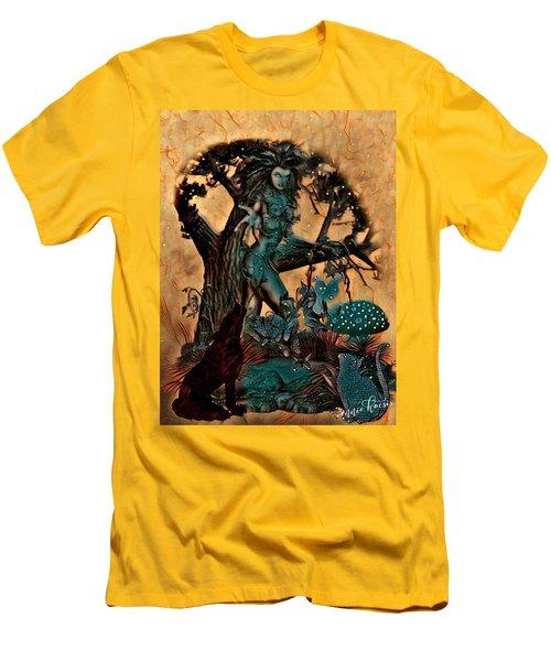 The Sacred Waters Men's T-Shirt (Slim Fit) by Vennie Kocsis