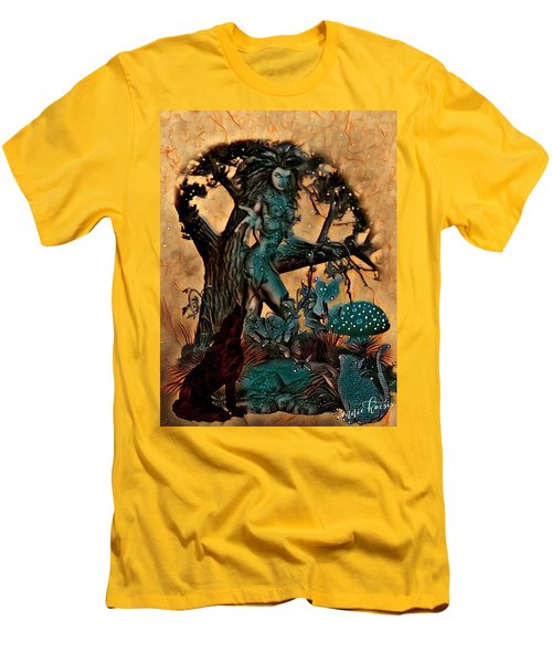 The Sacred Waters Men's T-Shirt (Athletic Fit)