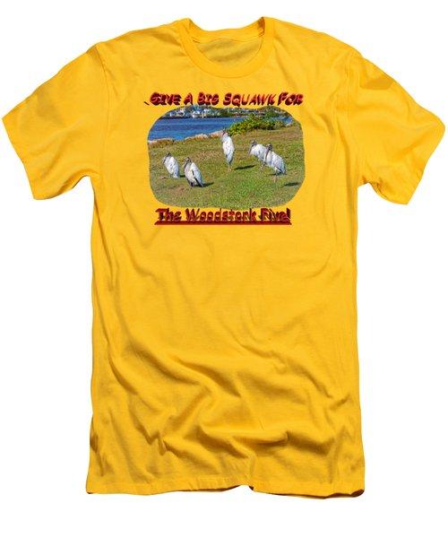 The Woodstork Five Men's T-Shirt (Slim Fit)