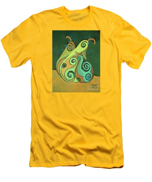 Three Groovy Little Pears Men's T-Shirt (Athletic Fit)