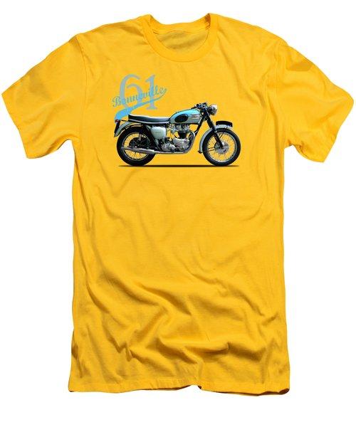 Triumph Bonneville 1961 Men's T-Shirt (Slim Fit) by Mark Rogan