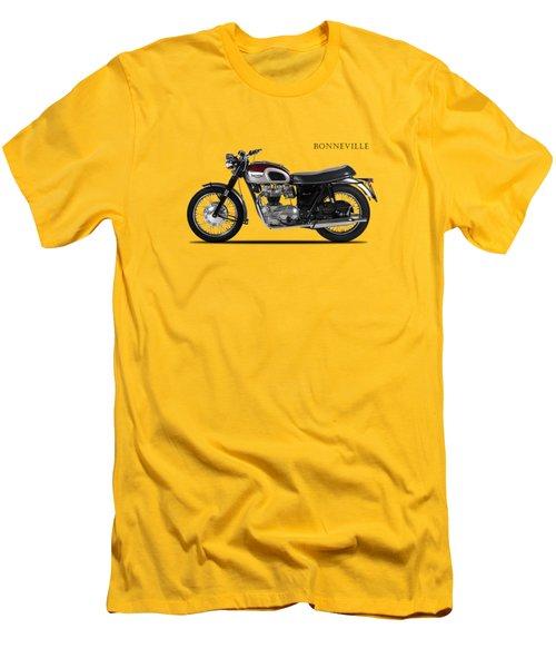 Triumph Bonneville 1968 Men's T-Shirt (Slim Fit) by Mark Rogan
