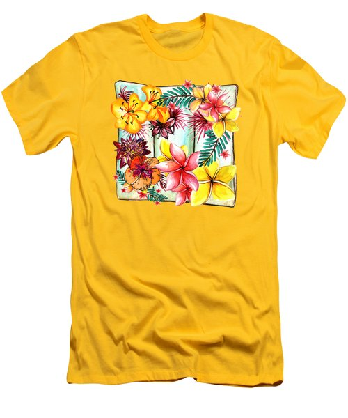 Tropicana By Kaye Menner Men's T-Shirt (Athletic Fit)