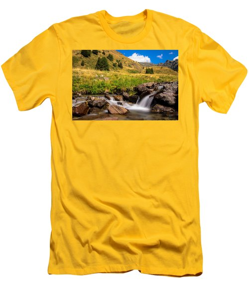 Valle Di Viso - Ponte Di Legno Men's T-Shirt (Athletic Fit)