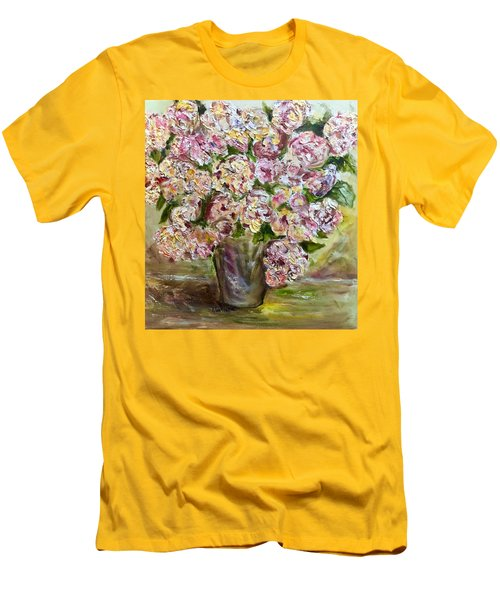 Vase Of Flowers Men's T-Shirt (Athletic Fit)