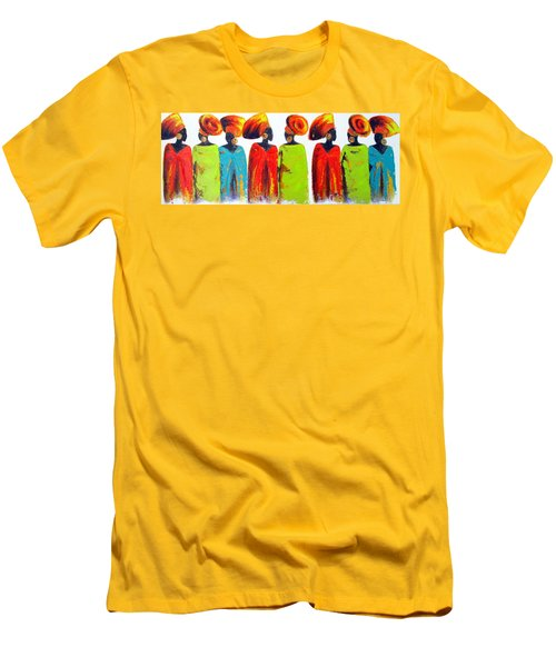 Village Talk Men's T-Shirt (Athletic Fit)