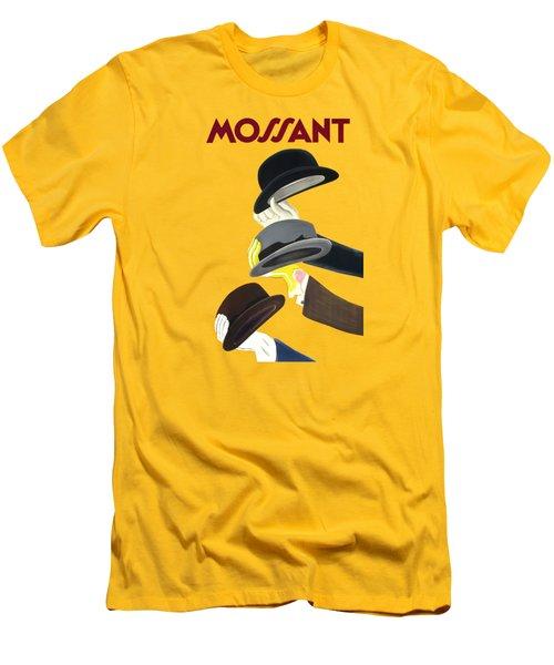 Vintage Advert Poster Mossant Men's T-Shirt (Athletic Fit)