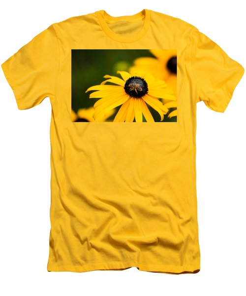 Visitor In The Garden Men's T-Shirt (Slim Fit) by Shelby  Young