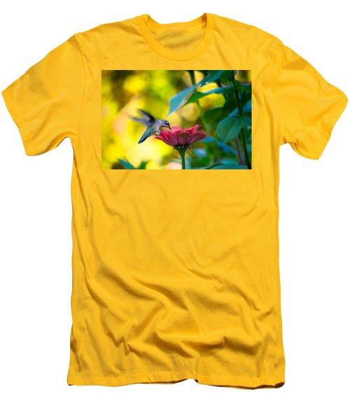 Waiting For Butterflies Men's T-Shirt (Slim Fit) by Craig Szymanski