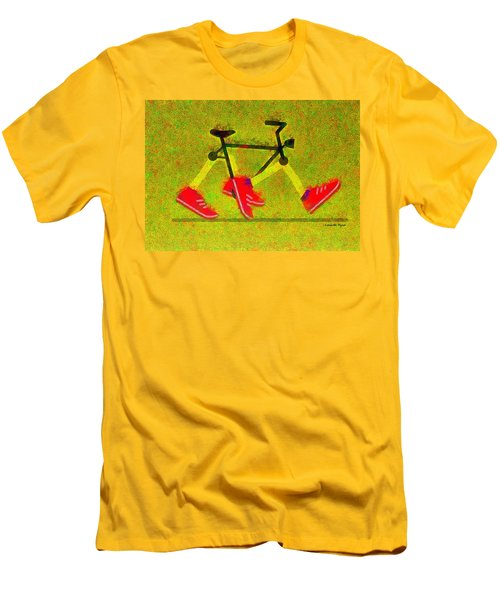 Walking Bike - Pa Men's T-Shirt (Athletic Fit)