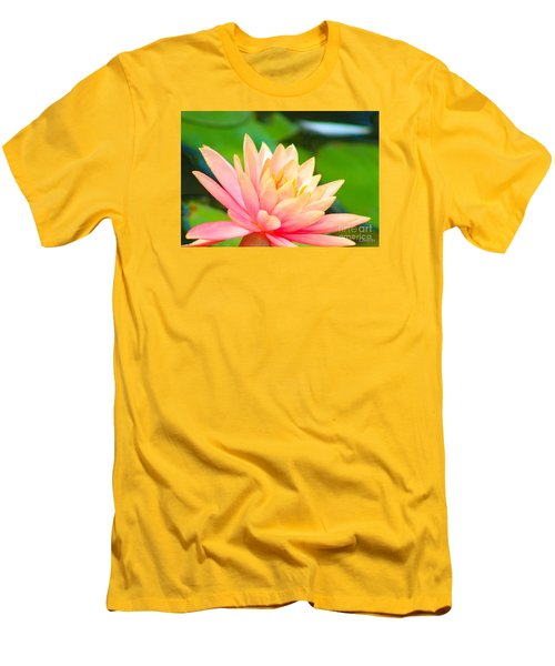 Water Lily In Pond Men's T-Shirt (Athletic Fit)