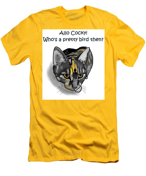 Who's A Pretty Bird Then? Men's T-Shirt (Athletic Fit)