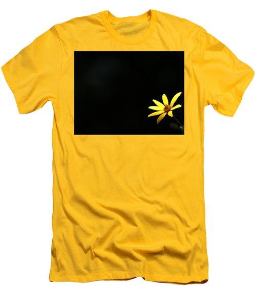Wild Sunflower Stony Brook New York Men's T-Shirt (Slim Fit) by Bob Savage