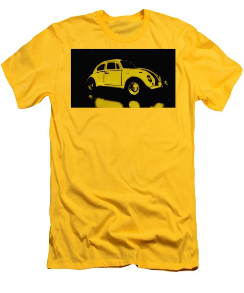 Yellow Bug Men's T-Shirt (Athletic Fit)