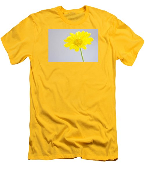 Yellow Drops Men's T-Shirt (Slim Fit) by Shelly Gunderson