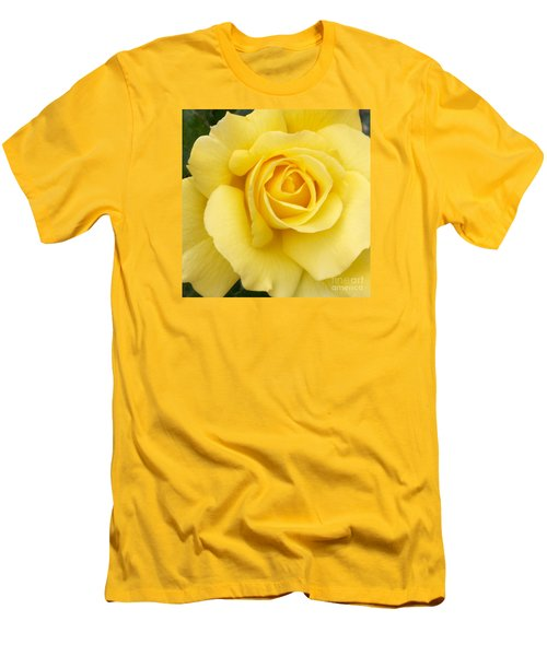 Men's T-Shirt (Slim Fit) featuring the photograph Yellow Gold by Sandy Molinaro