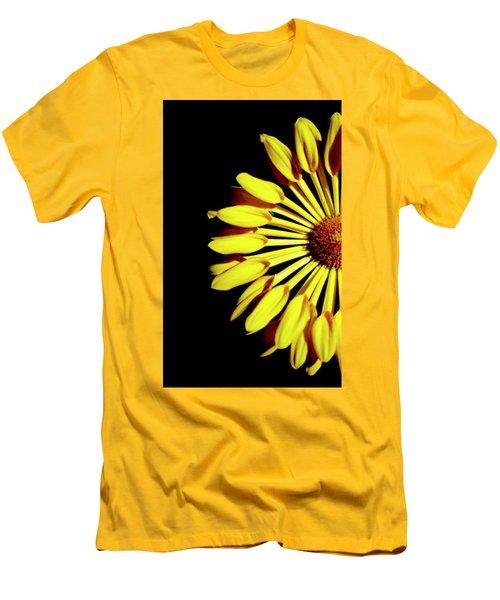 Yellow Petals Men's T-Shirt (Athletic Fit)