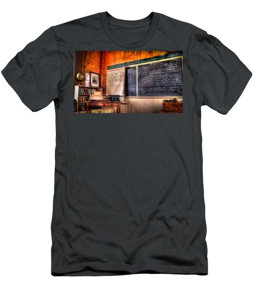 Men's T-Shirt (Slim Fit) featuring the photograph  After School by Ray Congrove