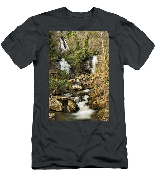 Amacola Falls Men's T-Shirt (Athletic Fit)