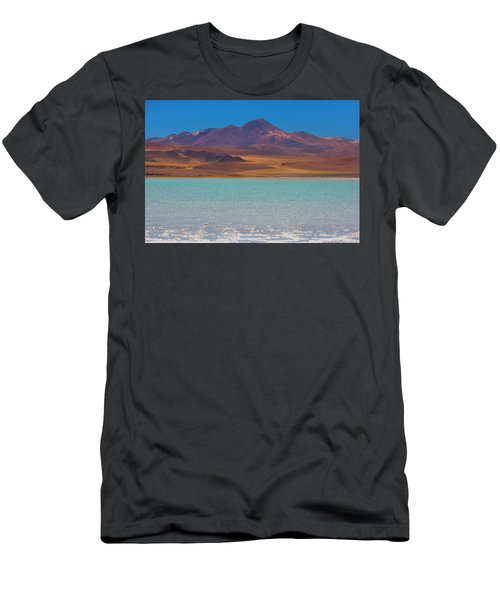 Atacama Salt Lake Men's T-Shirt (Athletic Fit)