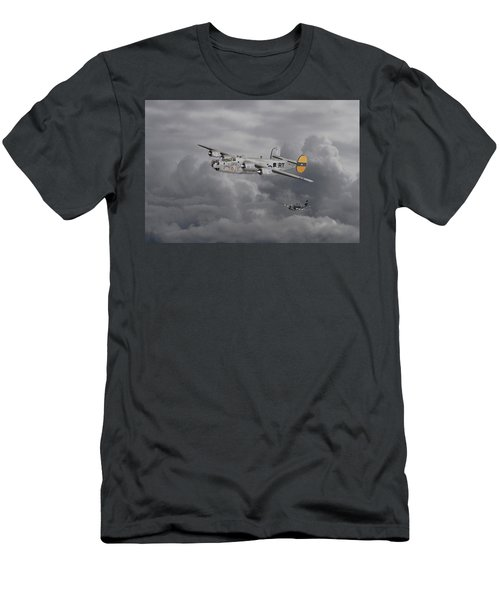 B24 Liberator  446th Bomb Group Men's T-Shirt (Athletic Fit)