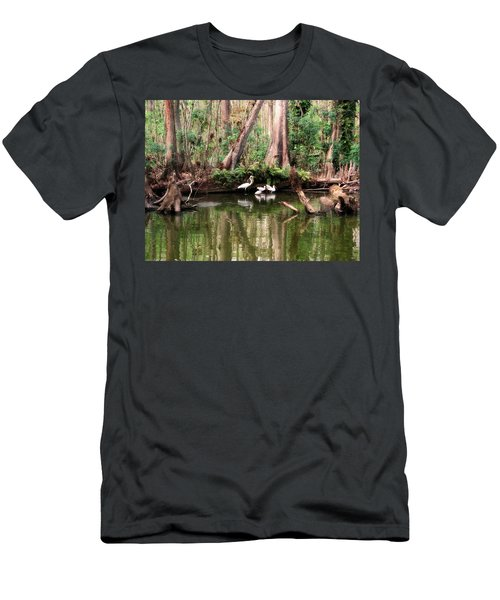 Cypress Swamp  Men's T-Shirt (Athletic Fit)