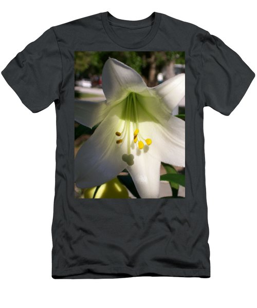Men's T-Shirt (Slim Fit) featuring the photograph  Easter Peace by Belinda Lee