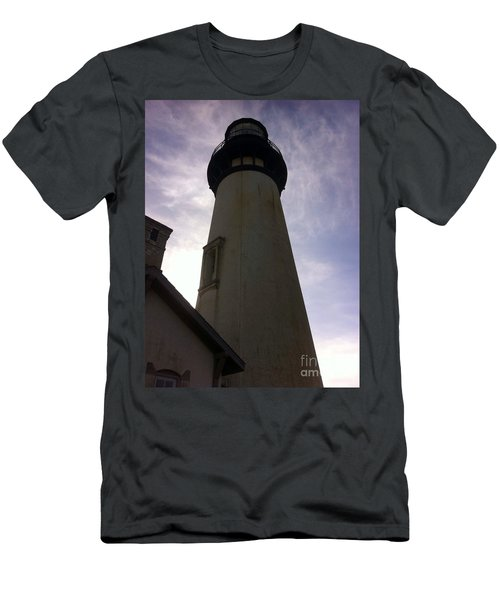 Light House Sky Men's T-Shirt (Slim Fit) by Susan Garren