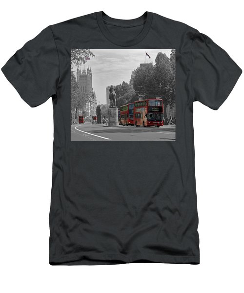 Routemaster London Buses Men's T-Shirt (Athletic Fit)