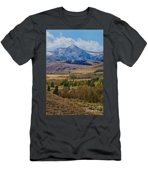 Men's T-Shirt (Athletic Fit) featuring the photograph  Sierras Mountains by Mae Wertz