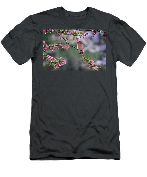 Singing In The Rain  2   Men's T-Shirt (Slim Fit) by Nava Thompson