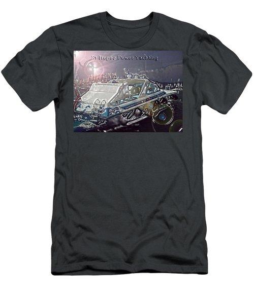 Yacht Art Men's T-Shirt (Athletic Fit)