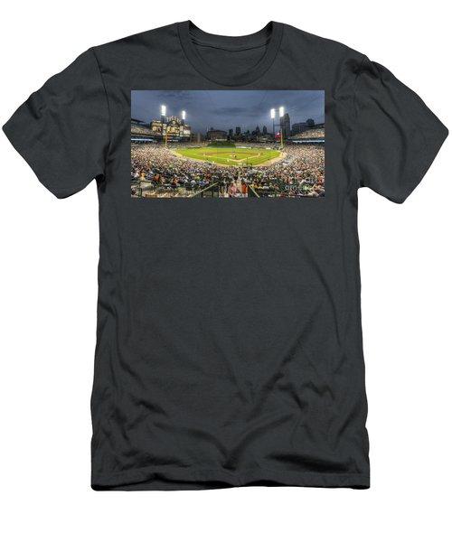 0101 Comerica Park - Detroit Michigan Men's T-Shirt (Athletic Fit)