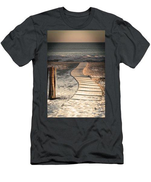 0160 Evanston Boardwalk Men's T-Shirt (Athletic Fit)