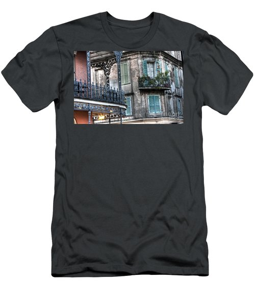 0275 New Orleans Balconies Men's T-Shirt (Athletic Fit)