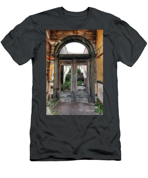 0707 Jerome Ghost Town Men's T-Shirt (Athletic Fit)