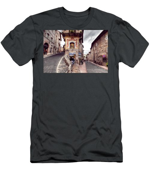 0801 Assisi Italy Men's T-Shirt (Athletic Fit)