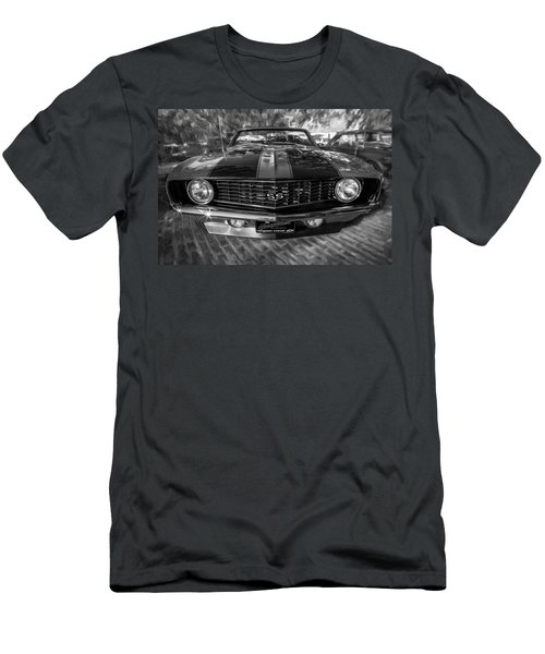 1969 Chevy Camaro Ss Painted Bw Men's T-Shirt (Athletic Fit)