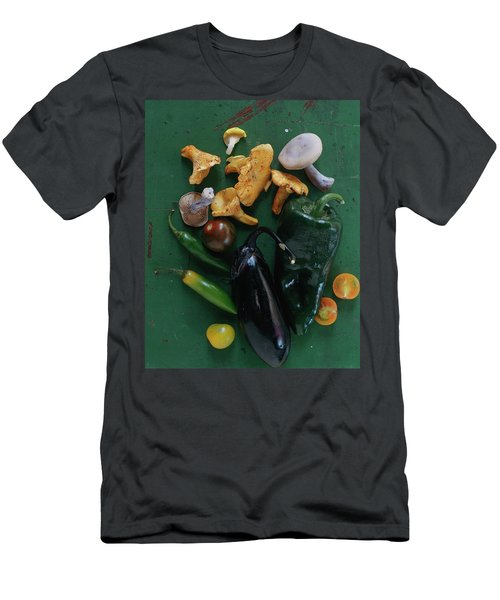 A Pile Of Vegetables Men's T-Shirt (Athletic Fit)