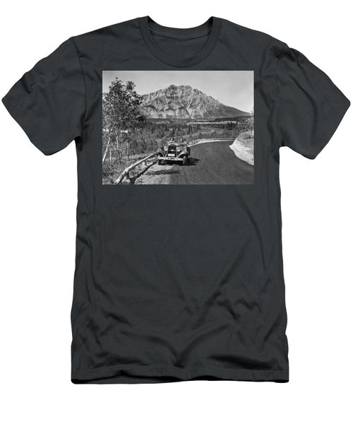 A Roadster In The Rockies Men's T-Shirt (Athletic Fit)