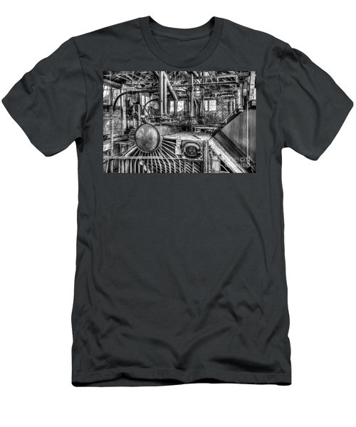 Abandoned Steam Plant Men's T-Shirt (Athletic Fit)