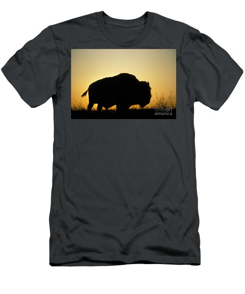 American Bison Men's T-Shirt (Athletic Fit)